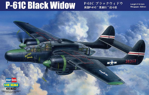 "P-61C ""Black Widow"""